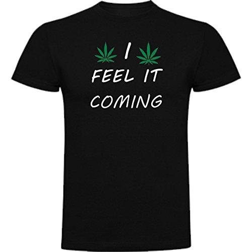 The Fan Tee Camiseta de Marihuana Maria Weed Juego de Tronos Mujer L Negro