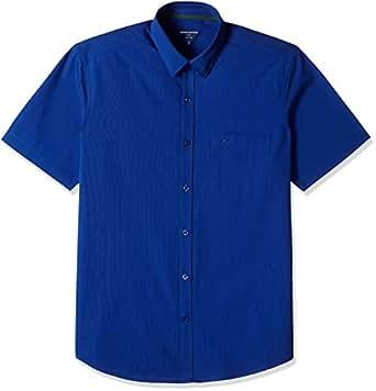 Indigo Nation Men's Formal Shirt (8907372724355_1ISE690142_42_Blue)