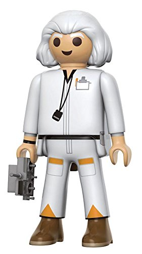 Back to the Future Dr. Emmett Brown Playmobil Action-Figur (Playmobil-action-figuren)