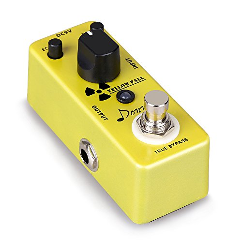 donner-yellow-fall-delay-guitar-effect-pedal-mini-compact-size-true-bypass