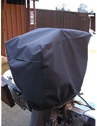 Motor fuera borda (impermeable y con ventilación Tamaño 7(150–300HP) negro Motor Cubierta