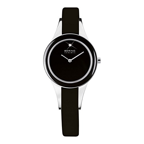 BERING Damen-Armbanduhr Analog Quarz Leder 33125-442