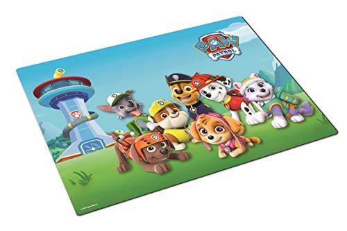 POS Paw Patrol Platzset/Tischset - aus Kunststoff - für Kinder 42 x 29 cm