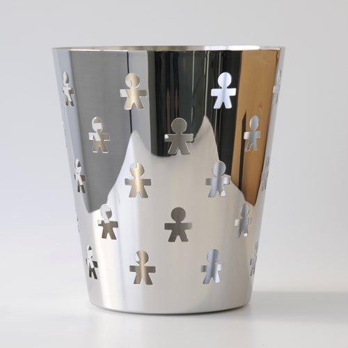 A di Alessi Girotondo Paper Basket, (AKK57)