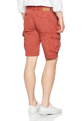 camel active Herren Shorts 5z31 496250 Rot (Rust 52)