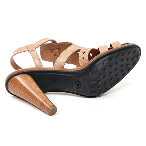 B4622 sandalo donna TOD'S T110 scarpa fori beige sandal shoe woman Beige