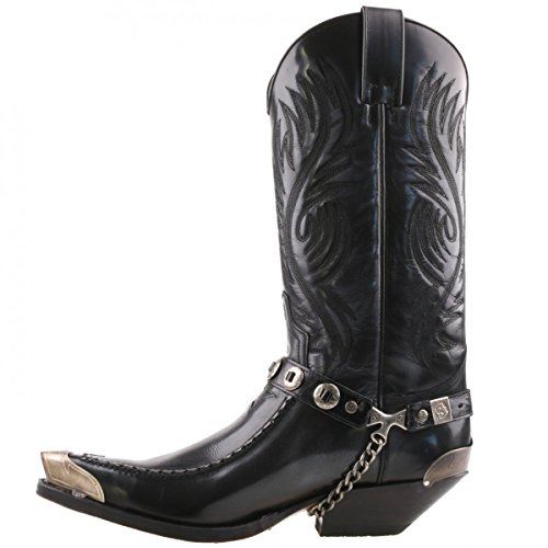 5844 Anthracite cowboy boots from Sendra Gray Size: 8: Amazon.co ...