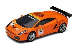 Scalextric 500003078 Lamborghini Gallardo GT RR DPR - Coche miniatura para circuito de carreras eléctrico (escala 1:32) importado de Alemania