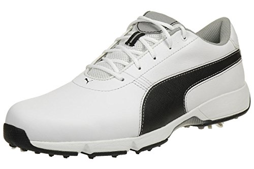 Puma Ignite Drive Golfschuhe Sneaker Gr 42,5 UK 8,5 Weiß White 189166 04 (Puma-laufwerk)