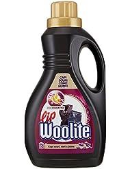 Lip Woolite Detersivo Liquido per Capi Neri, Scuri e Denim, Profumo Brezza di Mezzanotte - 1.5 Litri