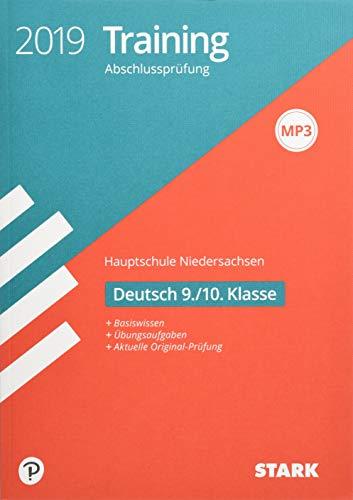 Training Abschlussprüfung Hauptschule - Deutsch 9./10. Klasse - Niedersachsen