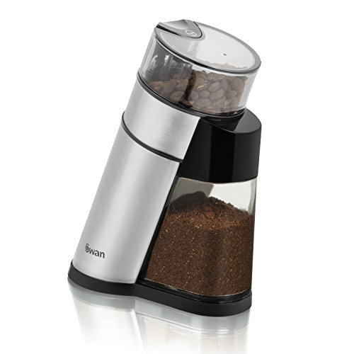 Swan SF16020N Stainless Steel Coffee Grinder, 2.5 oz, 150 Watt 41JefW3 2B60L
