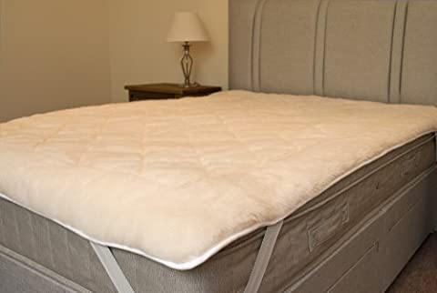 Pure Australian Wool Ultimate Fleece Reversible Mattress Topper (Double) from Bedding Direct UK by Original Sleep Company