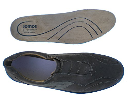 Jomos-305214-12-3069 Malaga Herren Slipper schlammfarbig