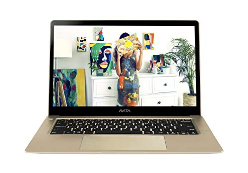 AVITA LIBER NS13A1IN015P 13.3-inch FHD Ultra Slim & Light (Core i5-7th Gen/8GB/512GB SSD/Windows 10 Home/Integrated Graphics/1.37 kg), Champange Gold