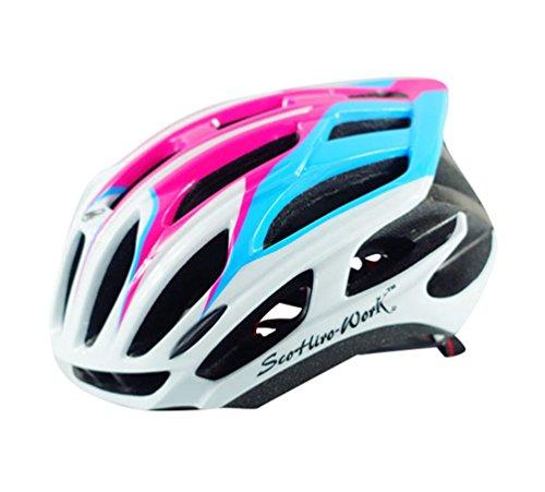 Dooxi Männer Frauen Leichtgewicht Atmungsaktiv Fahrradhelm Professionellem MTB Mountainbike Helme 58-62cm