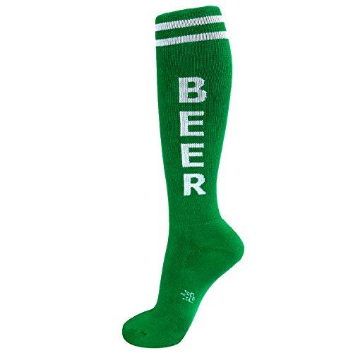 Gumball-Poodle-Beer-Knee-Socks-Green