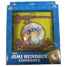 Image of McFarlane Toys 3D Album Cover - Jimi Hendrix 'Are You Experienced'