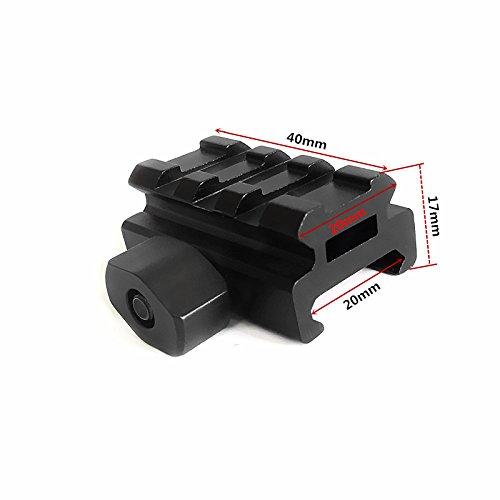 HWZ Low-Profile Compact Riser Mount, 0.5