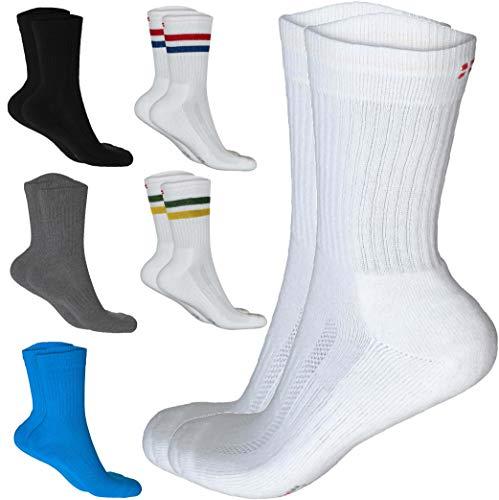 DANISH ENDURANCE Performance Crew Socken (Grau – 3 Paare, EU 39-42)
