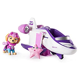 Paw Patrol SKYE - SEA PATROL VEHICLE with BONUS SEA FRIEND