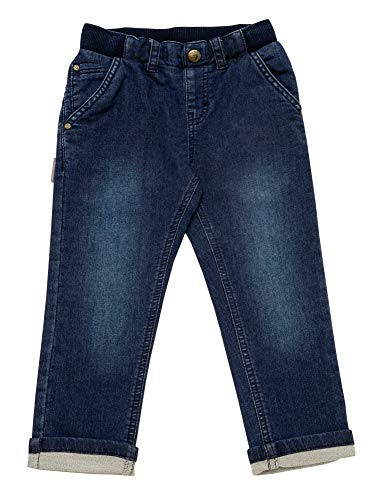 Sigikid Jungen Jeans, Mini Jeans, per Pack Blau (Indigo 212), 104 (Herstellergröße: 104)