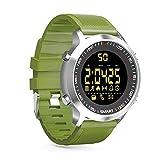 Orologio da polso sportivo Zrsj Bluetooth Smart Watch EX18 Activity compatibile con Android / iOS (Verde)