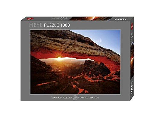 Heye 29594 - Alexander von Humboldt, Mesa Arch, 1000 Teile Standardpuzzle