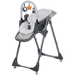 Safety 1st Kiwi 3 en 1 Chaise Haute pour bébé évolutive, de 6 mois à 3,5 ans, Warm Grey