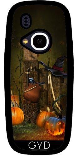 (DesignedByIndependentArtists Hülle für Nokia 3310 2017 - Halloween 15-2 Hexe Kürbis by Illu-Pic.-A.T.Art)