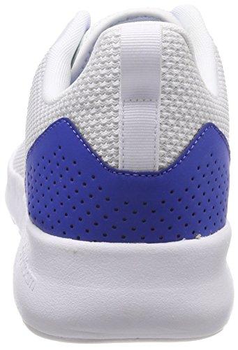 adidas CF Element Race, Scarpe Running Uomo Bianco (Rose Crystal White/footwear White/blue 0)