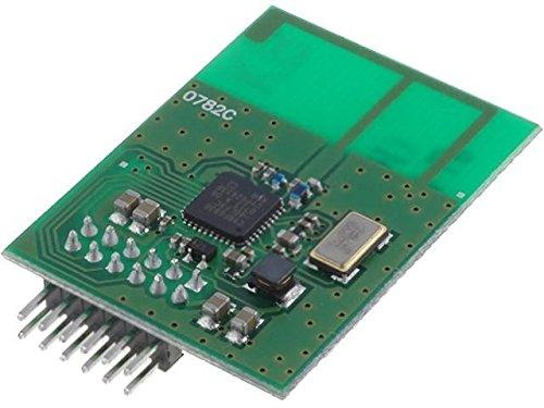 XTR-VF-2.4-LP Module RF FM transceiver FM, FSK 2.4GHz SPI -93dBm 3VDC 650201025G -