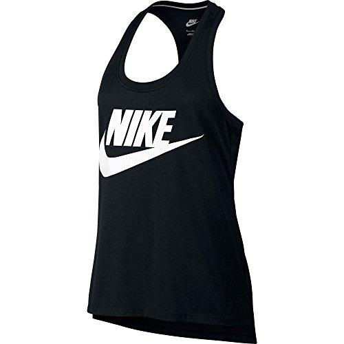 Nike Logo Signal Tank-Canotta da donna MULTICOLORE nero/bianco XS
