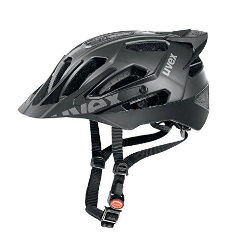 Uvex Quatro Pro - Casco de ciclismo para hombre, color negro mate, talla 56-61 cm