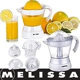 Melissa 16230022 Entsafter Saftpresse Zitruspresse Elektrische Presse Fruchtpresse 0,5l