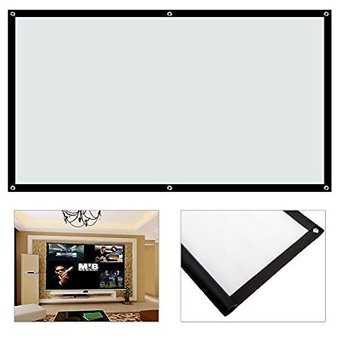 Ecran Video Projecteur - MultiWare Écran De Projection Portable Et Pliable