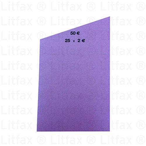 1000 x Handrollpapier für 25 x 2,00 € (violett)