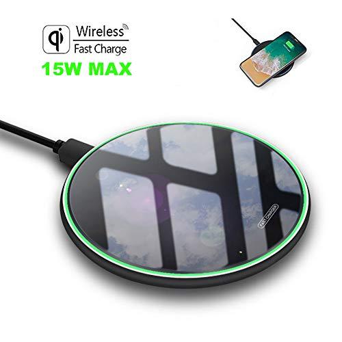 HOKEKI Linterna Frontal Resistente al Agua para Correr Caza pasear al Perro Senderismo Linterna Frontal LED Recargable por USB Grado IPX4 Diadema Ajustable de 4 Modos