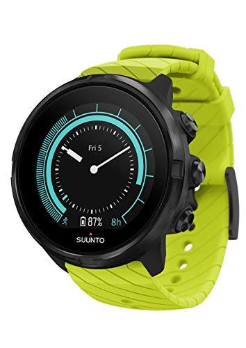 Suunto 9 Unisex Multisport-GPS-Uhr, grün, Farbdisplay, SS050144000