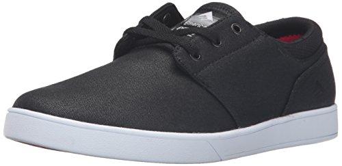 Herren Skateschuh Emerica The Figueroa Skateschuhe Black/White/Black