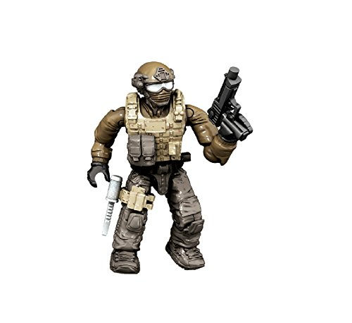 Preisvergleich Produktbild Mattel Mega Bloks - Call of Duty Figur Desert Solider mit Pistole Minfigur