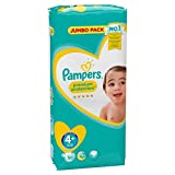 Pampers Premium Protection Größe 4+ Maxi Plus 9-18kg Jumbopack 50 Windeln
