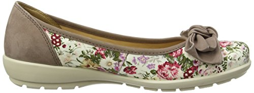 Hotter Jewel, Ballerines femme Multicolore - Multicolor (Vintage Floral Flint)
