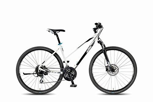 KTM Crossrad Life Track weiss schwarz cyan RH DA 46, 14,60 kg 2018