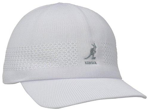 Kangol Headwear Tropic Ventair Spacecap - casquette de Baseball - Homme - Blanc - Medium