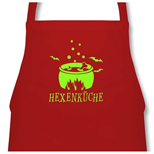 Shirtracer Küche - Hexenküche - 60 x 87 cm (B x H) - Rot - PW102 - Kochschürze für Männer und Damen (Originelle Ideen 2019 Die Für Halloween-kostüme)