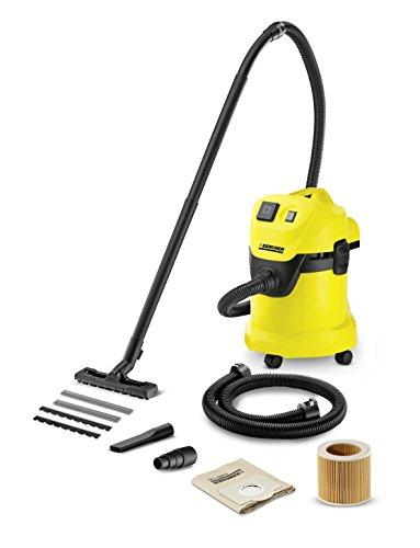 *Kärcher Mehrzwecksauger WD 3 P Extension Kit mit Steckdose und 1,5 m Saugschlauchverlängerung*