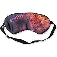 Sleep Eye Mask Horse Artwork Lightweight Soft Blindfold Adjustable Head Strap Eyeshade Travel Eyepatch preisvergleich bei billige-tabletten.eu
