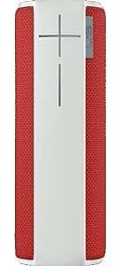 Ultimate Ears BOOM Kabelloser Bluetooth Lautsprecher (360° Sound, spritzwassergeschützt, 15 Meter kabellose Reichweite) rot