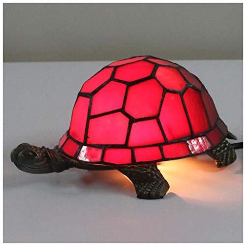 MISS YOU Lampada da tavolo europea retro tartaruga rossa - bar/casa dei libri/vetrate ristorante
